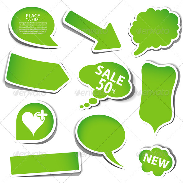 Speech Bubbles - Concepts Business