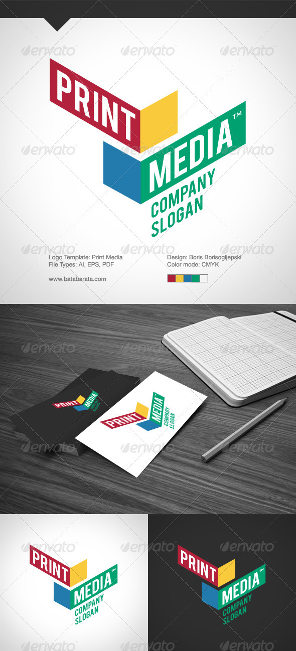 Print Media - Abstract Logo Templates