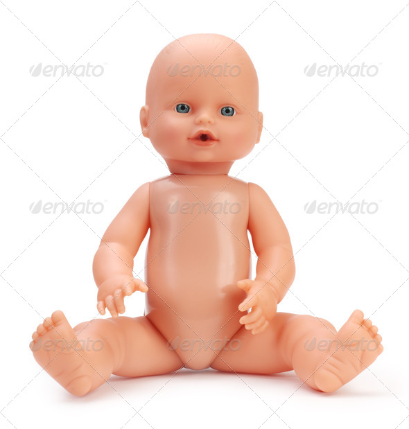 baby doll - Stock Photo - Images