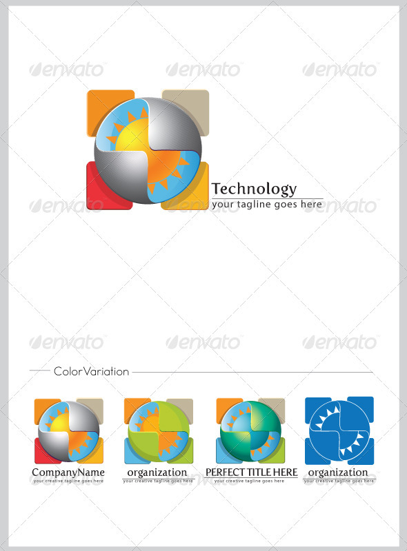 Technology Logo Template - Abstract Logo Templates