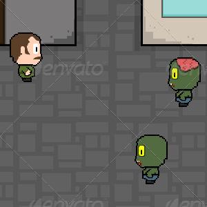 Zombie Game Set