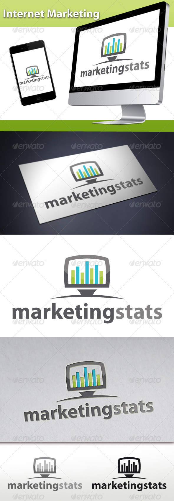 Internet Marketing Logo - Symbols Logo Templates
