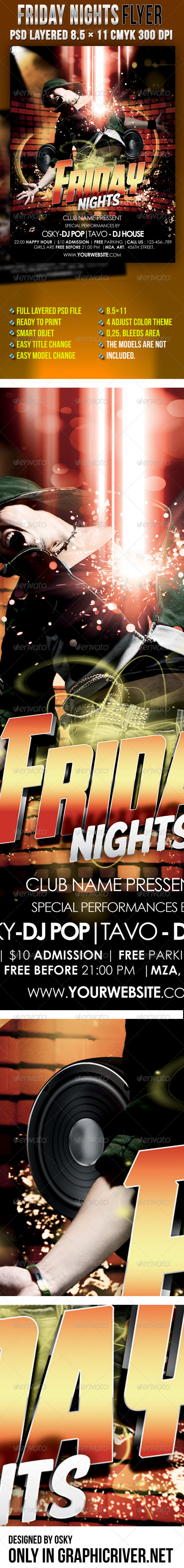 Friday Nights - Clubs & Parties Events
