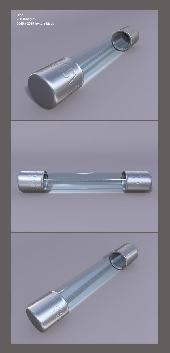 Render ready 3D Fuse  - 3DOcean Item for Sale