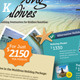 Holiday Travel Flyer Vol.01 - GraphicRiver Item for Sale