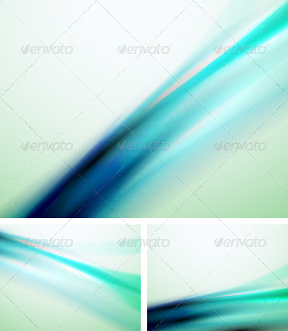 Smooth Blue Backgrounds - Backgrounds Decorative