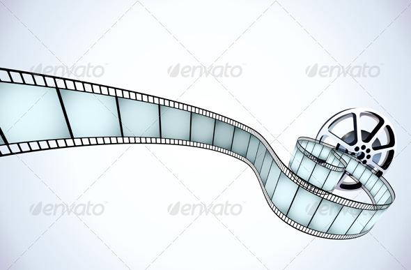 Movie Reel - Decorative Vectors