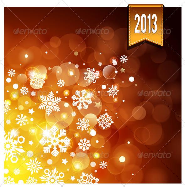 Gold Luminous Background - Backgrounds Decorative