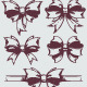 Hand drawn gift bows. - GraphicRiver Item for Sale