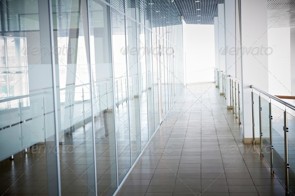 Interior of office building - Stock Photo - Images