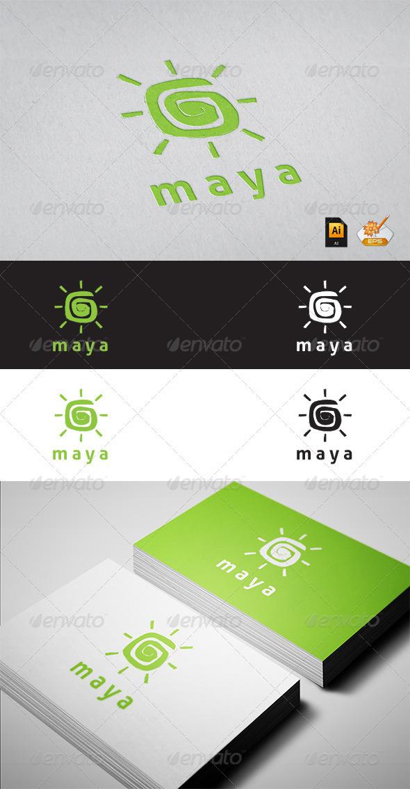 Maya Logo Tempalate - Symbols Logo Templates