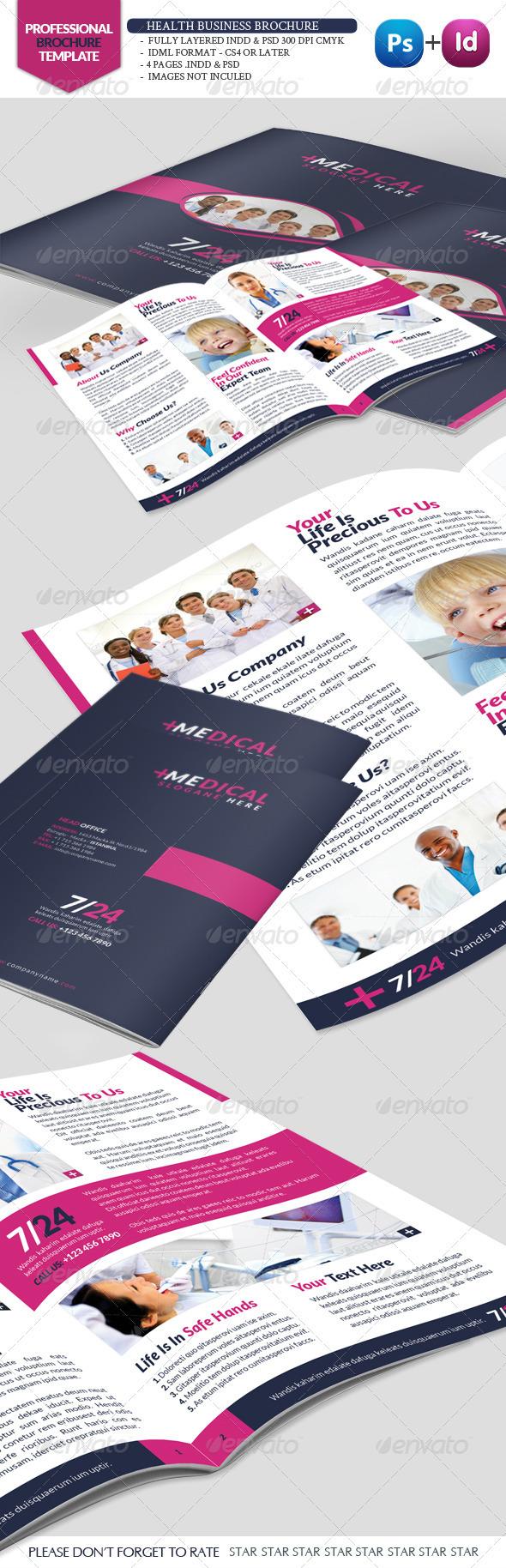Health Business Brochure - Corporate Brochures