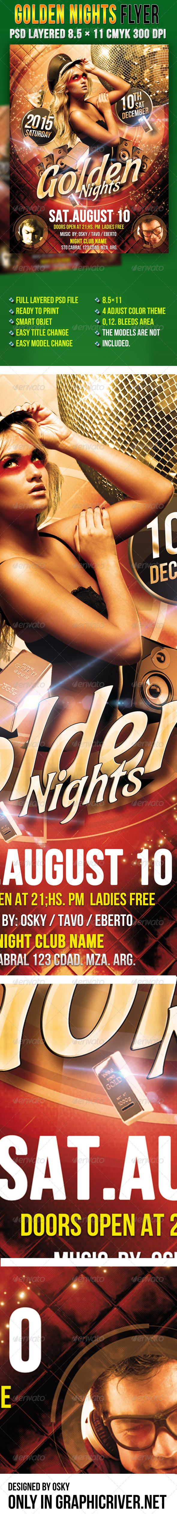 Golden Nights - Clubs & Parties Events