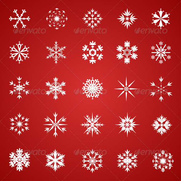 Snowflake Collection - Christmas Seasons/Holidays