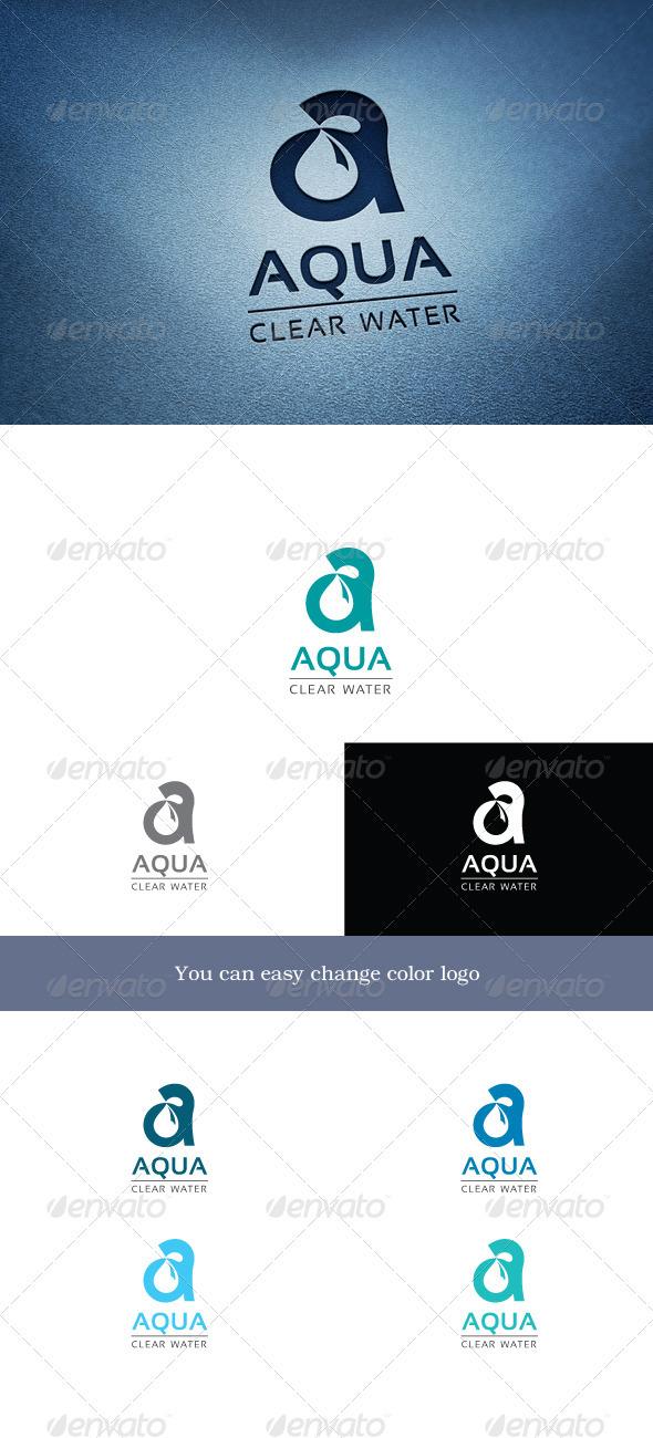 Aqua - Letters Logo Templates