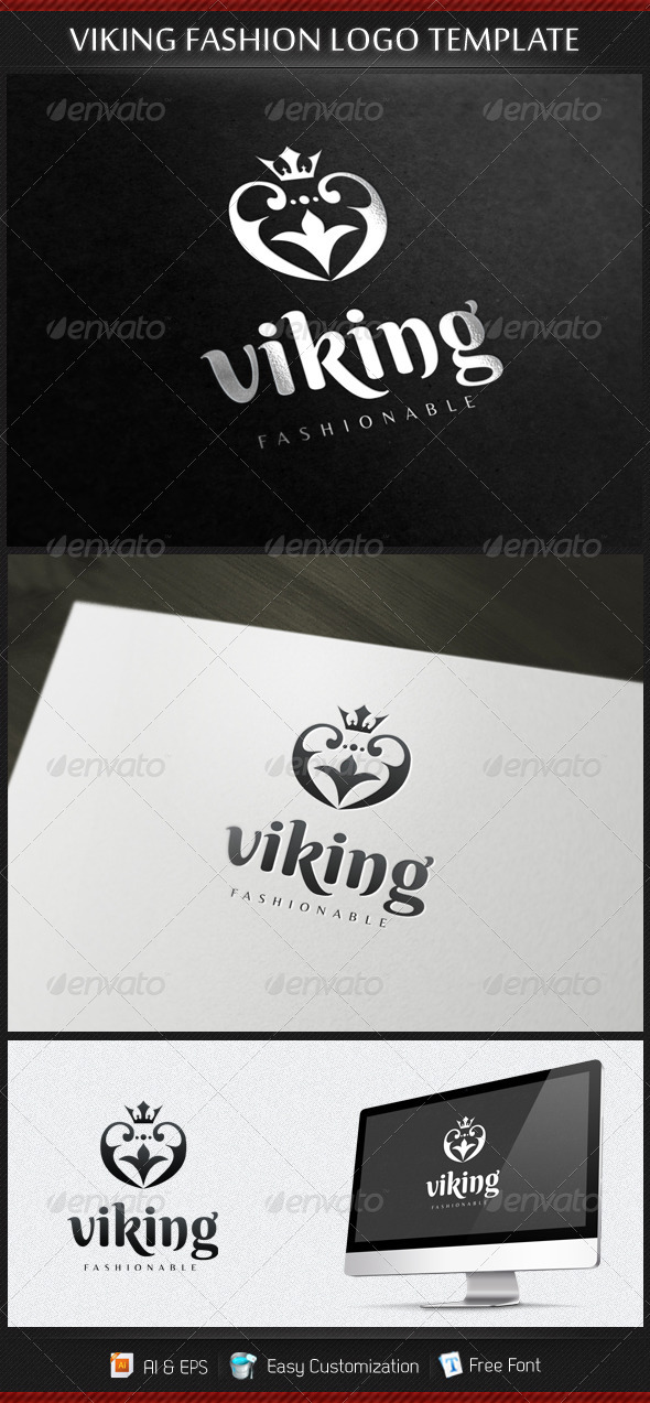 Viking Fashion Logo Template - Symbols Logo Templates