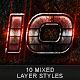 10 Mixed Layer Styles (vol.3) - GraphicRiver Item for Sale