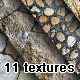 11 Beautiful Stone And Wall Textures - GraphicRiver Item for Sale