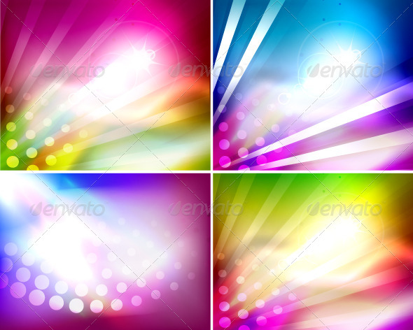 Abstract Vector Shiny Backgrounds - Backgrounds Decorative