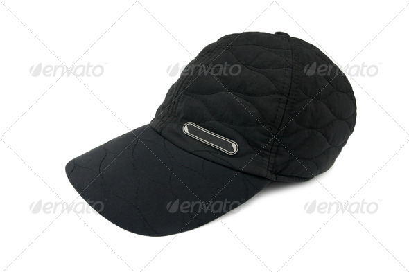 Black cap - Stock Photo - Images