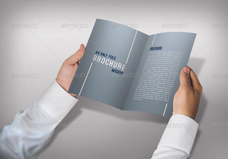 A4 Fold Mockup by ThemeTor | GraphicRiver