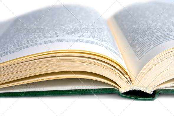 Cover open book - Stock Photo - Images