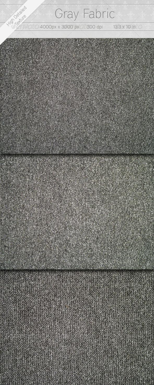 Gray Textile - Fabric Textures