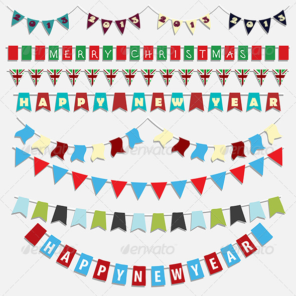 Christmas bunting - Christmas Seasons/Holidays