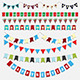 Christmas bunting - GraphicRiver Item for Sale