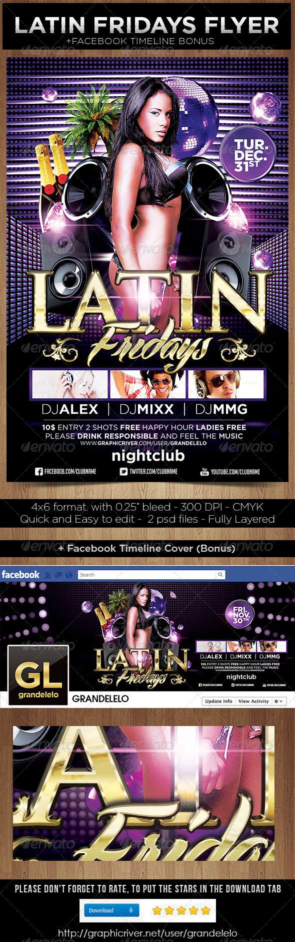 Latin Fridays - Clubs & Parties Events
