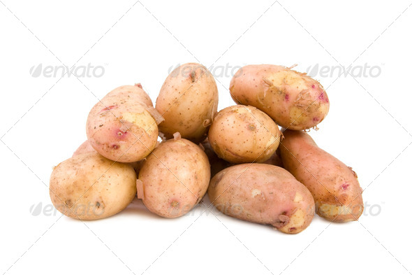 Young potatoes - Stock Photo - Images