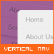 Vertical Navigation Menu 3-Pack - GraphicRiver Item for Sale