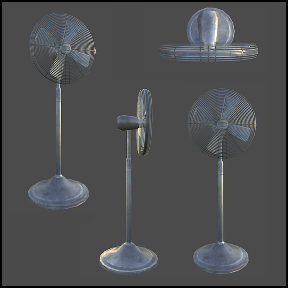 Standard Fan - 3DOcean Item for Sale