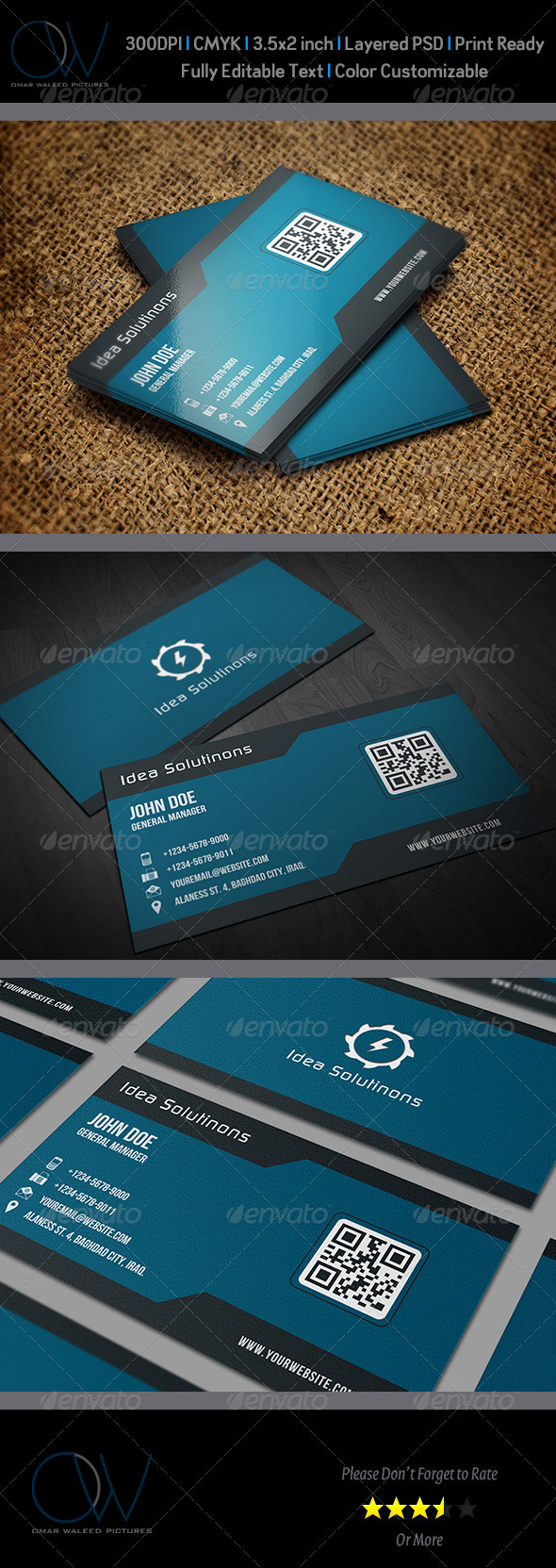 Corporate Business Card Vol.9 - Corporate Business Cards
