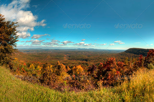 Autumn in Arkansas - Stock Photo - Images