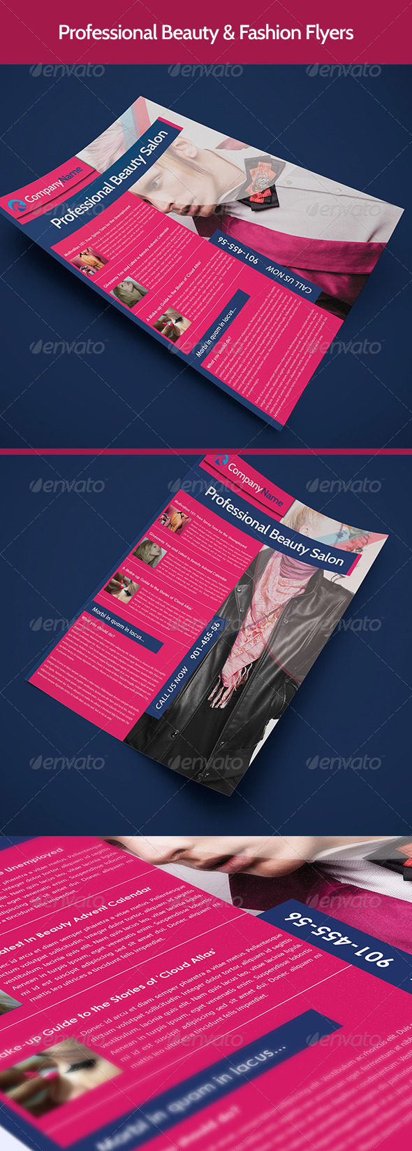 Beauty & Fashion Flyer - Corporate Flyers