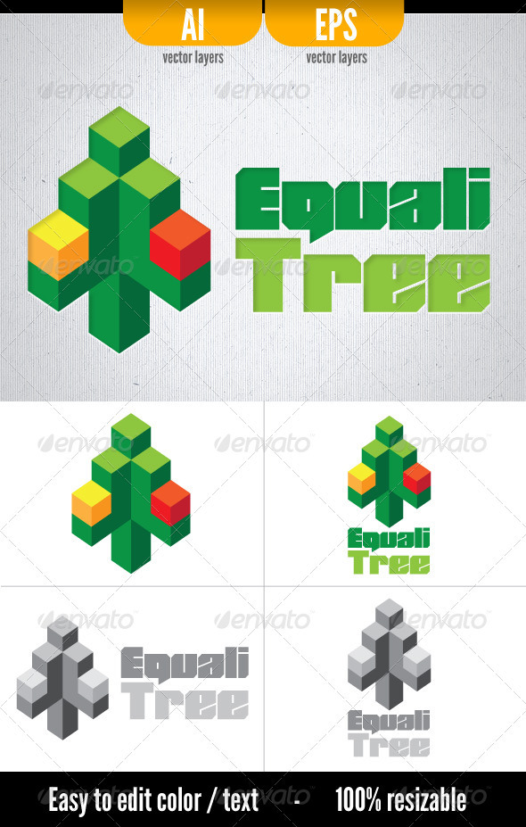 EqualiTree - Symbols Logo Templates