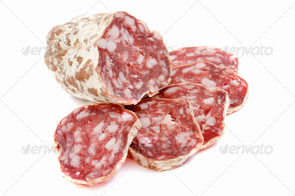 french saucisson - Stock Photo - Images