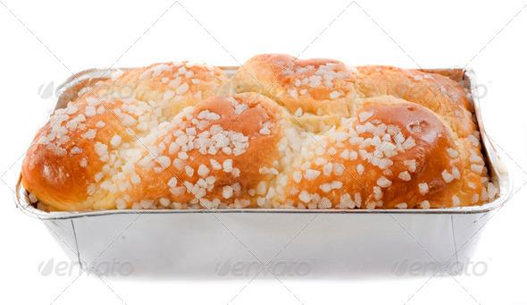 brioche with sugar - Stock Photo - Images
