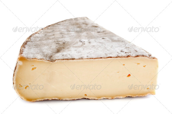 Saint-Nectaire cheese - Stock Photo - Images