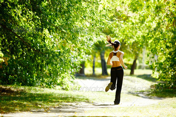 Morning run - Stock Photo - Images