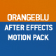 Blue/Orange Motion Pack AFX project - VideoHive Item for Sale