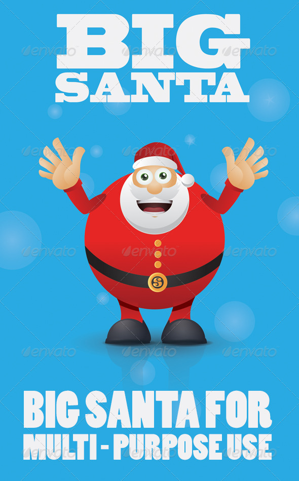 Big Santa - Christmas Seasons/Holidays
