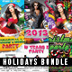 Holidays Flyer Bundle - GraphicRiver Item for Sale