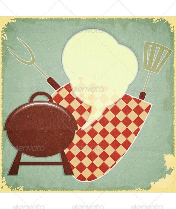 Grill Menu - Food Objects