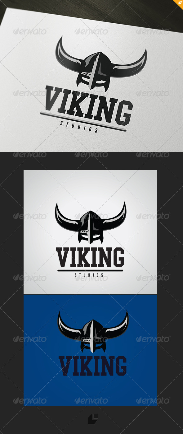 Viking Studios Logo - Vector Abstract