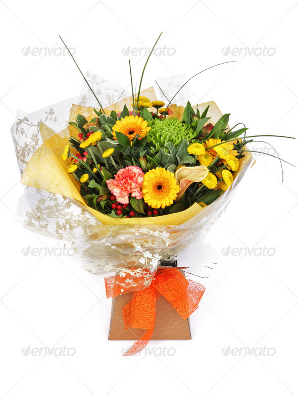 Bouquet of flowers - Stock Photo - Images