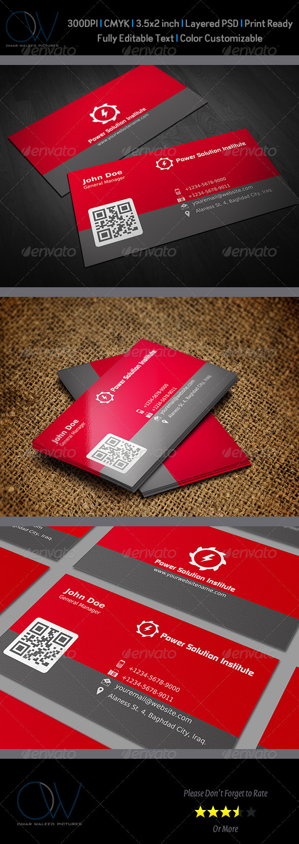 Corporate Business Card Vol.6 - Corporate Business Cards