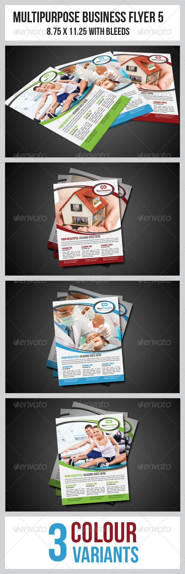 Multipurpose Business Flyer 5 - Corporate Flyers