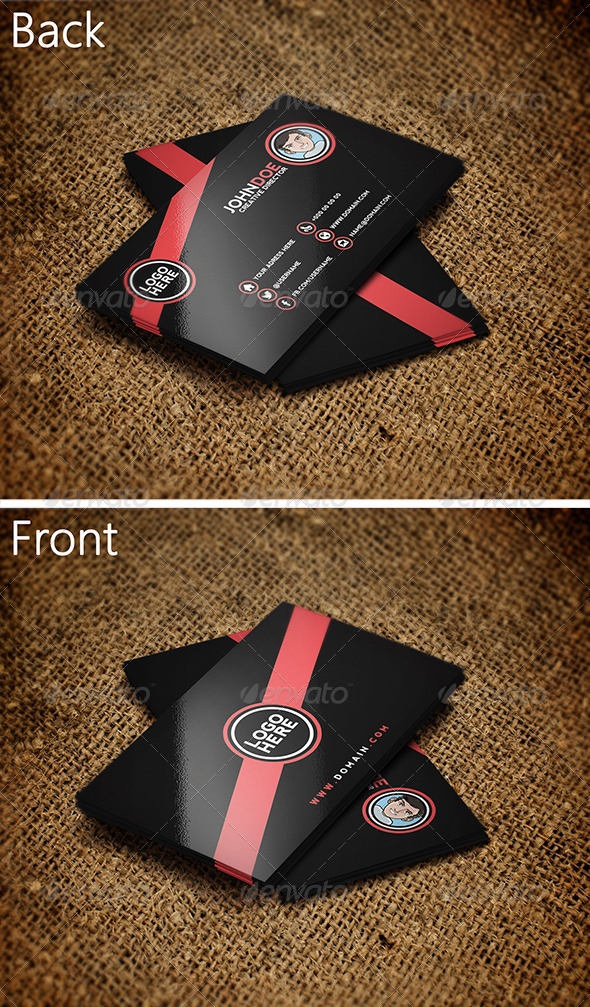 Black Business Card 3 - Creative Business Cards